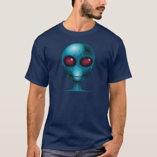 EXTRATERRESTRIAL ALIEN HEAD WITH HYPNOTIC EYES T-Shirt