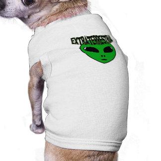 EXTRATERRESTRIAL SLEEVELESS DOG SHIRT