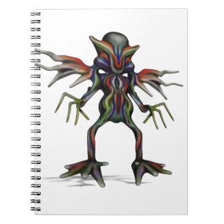 extraterrestrial spiral note books