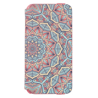 Extravagant Mandala Design Incipio Watson™ iPhone 6 Wallet Case