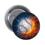 Extreme Baseball 6 Cm Round Badge