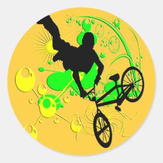 Extreme Biking Sticker