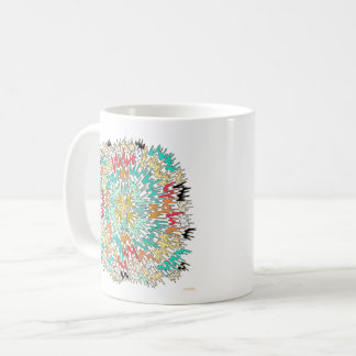 Extreme Color Burst Abstract Mug