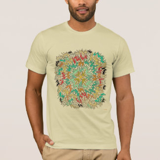 Extreme Color Burst Abstract T-Shirt