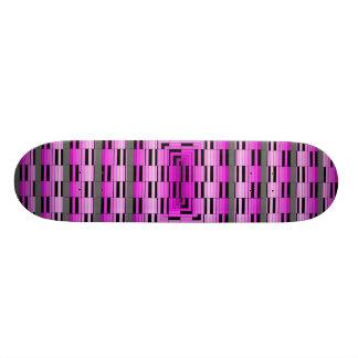 Extreme Design Magenta Optical Waves Skateboard