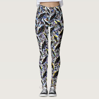 Extreme Diamond Metal Leggings