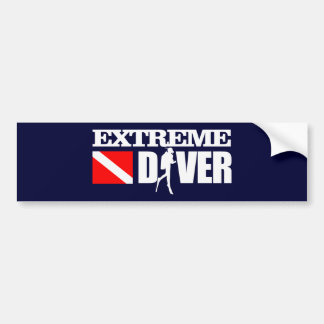 Extreme Diver 2 Bumper Sticker