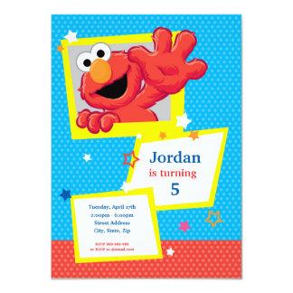 Extreme Elmo Birthday 11 Cm X 16 Cm Invitation Card