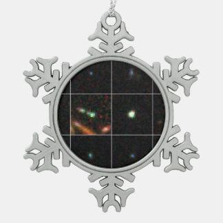Extreme Emission Line Galaxies in the GOODS South Pewter Snowflake Decoration