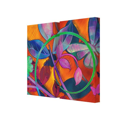 Extreme Floral Stretched Canvas Prints