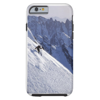 Extreme Free Skiing in Alaska Tough iPhone 6 Case