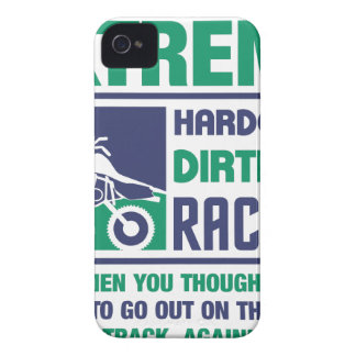 Extreme Hardcore Dirtbike Racing iPhone 4 Case-Mate Case