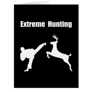 Extreme Hunting Card