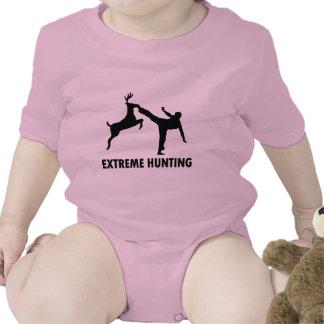 Extreme Hunting Deer Karate Kick Tees