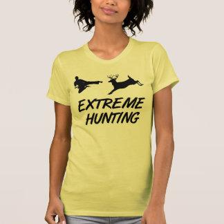 Extreme Hunting Karate Kick Deer Tees