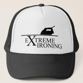 Extreme Ironing by Adam Peel Trucker Hat