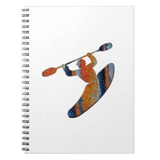 Extreme Kayak Spiral Notebook