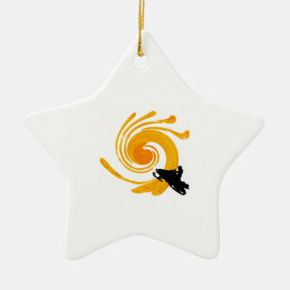 Extreme Manifestation Ceramic Ornament