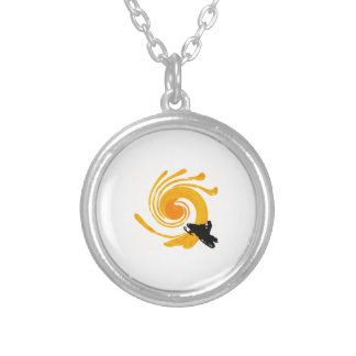 Extreme Manifestation Silver Plated Necklace
