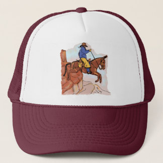 Extreme Mule Riding Trucker Hat