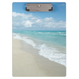 Extreme Relaxation Beach View Ocean Clipboard