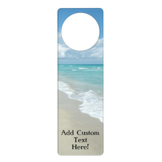 Extreme Relaxation Beach View Ocean Door Hanger