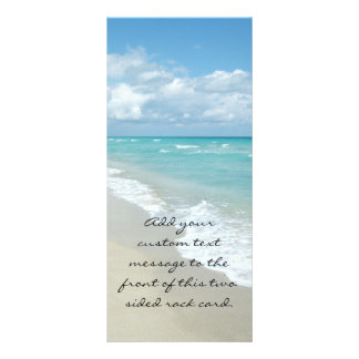 Extreme Relaxation Beach View Rack Cards