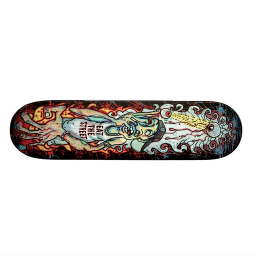 Extreme SK8 Board Art by Eat The Street Skate Board Deck