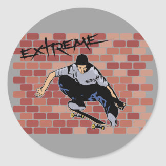 Extreme Skateboarding stickers