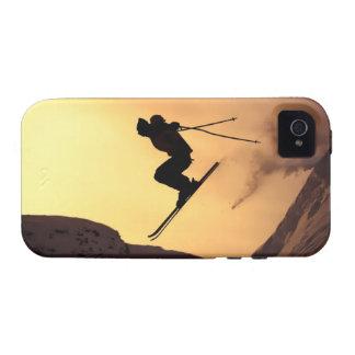 Extreme Ski Vibe iPhone 4 Cases