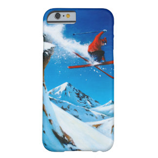 Extreme Skiing Barely There iPhone 6 Case