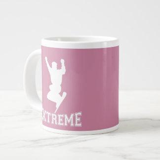 EXTREME Snowboard 2 (white) Large Coffee Mug