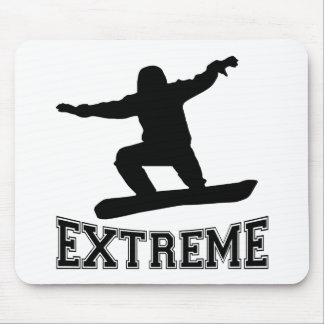 EXTREME Snowboard Mouse Pad