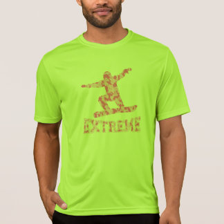 EXTREME SNOWBOARDER 1 PINK CAMO T-Shirt
