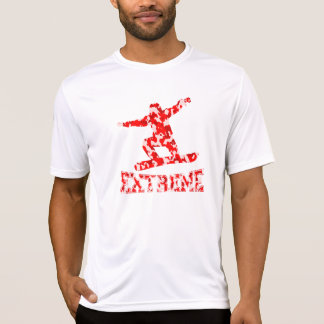 EXTREME Snowboarder 1 RED CAMO T-Shirt