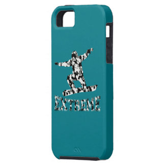 EXTREME SNOWBOARDER IN URBAN CAMO iPhone 5 CASE