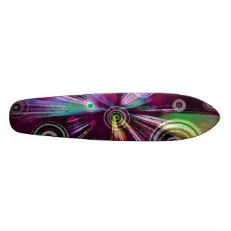 Extreme Sports Digital Art Skateboard Deck