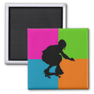 extreme sports - skateboard magnet