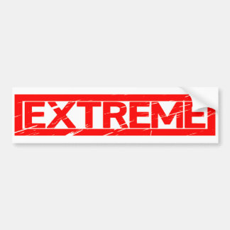 Extreme Stamp Bumper Sticker