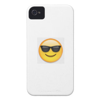 extreme sunglasses emoji phone case