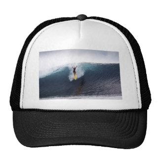 Extreme surfing big blue waves cap