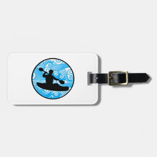 Extreme Wave Runner Luggage Tag