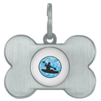 Extreme Wave Runner Pet Name Tag