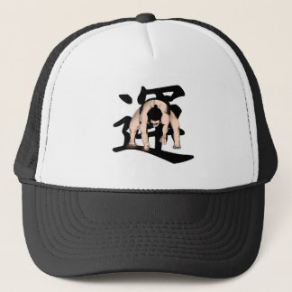 extreme-wrestling trucker hat