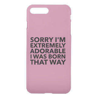 Extremely Adorable Born That Way iPhone 7 Plus Case