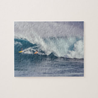 Extremely Difficult Ocean wave Surfers Jigsaw Puzzle