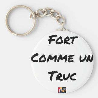 EXTREMELY LIKE a TRICK - Word games - François Key Ring