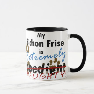 Extremely Naughty Bichon Frise Mug