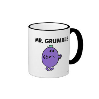 Extremely Unhappy Mr. Grumble Ringer Mug