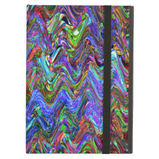 Exuberant Color Zigzag Abstract iPad Air Case